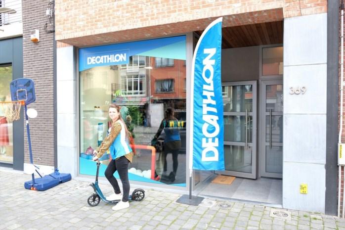 Decathlon opent kleine pop-up aan Bredabaan