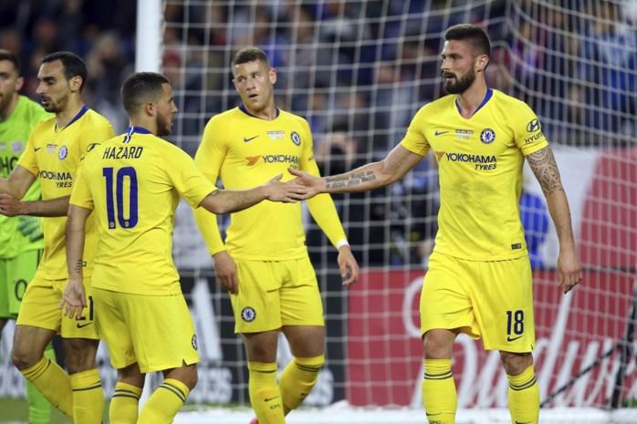 Eden Hazard wint met Chelsea wedstrijd voor het goede doel in Amerika