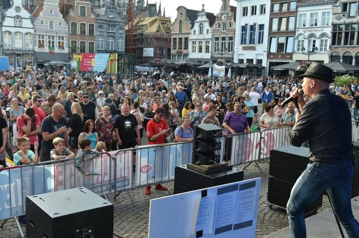 Vernieuwde Mechelen Zingt om horeca te compenseren