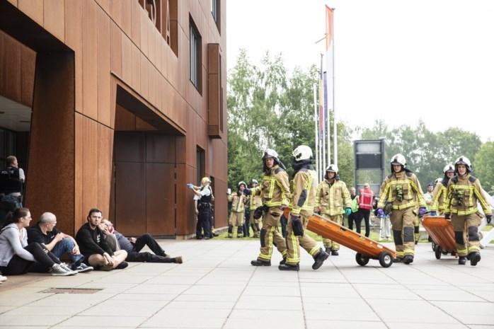 IN BEELD. Campus Vesta: tien doden en 35 gewonden (tijdens rampoefening)