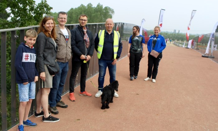 Fietsbrug aan fietsostrade Antwerpen-Lier lokt honderden bezoekers op Open Wervendag
