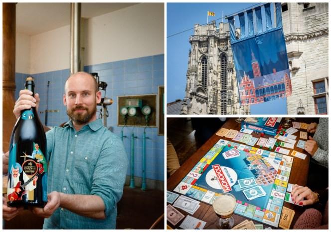 """Dennis (35) kleurt Mechelen: """"Het is leuk om rond te wandelen tussen je eigen ontwerpen"""""""