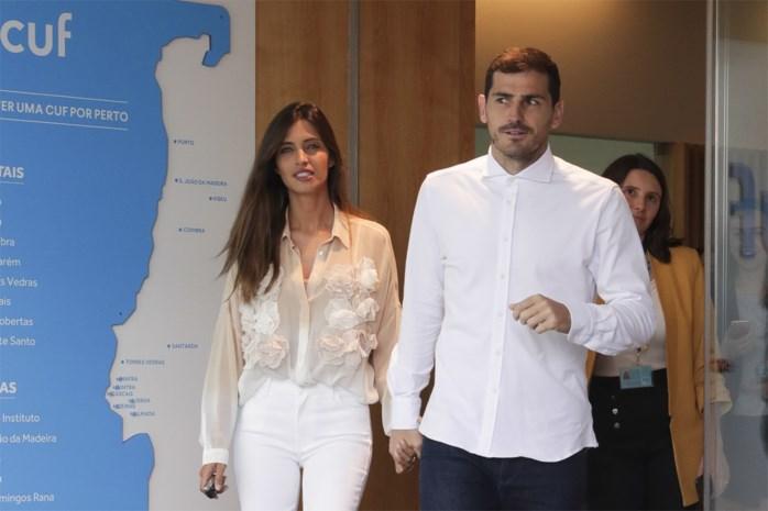 """Echtgenote van Iker Casillas heeft kanker: """"Nog niet bekomen van ene schok, of het leven heeft ons opnieuw verrast"""""""