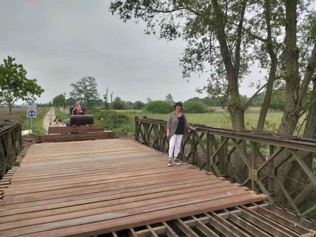 Baileybrug over Kleine Beek wordt hersteld