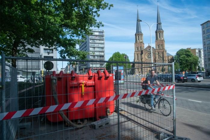 Mysterie opgelost: water Stadspark komt van Belgiëlei
