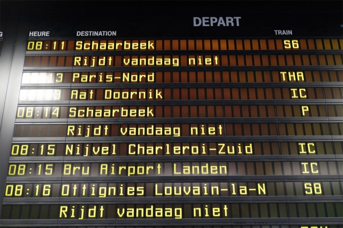 Stiptheid van Belgische treinen bij slechtste van Europa