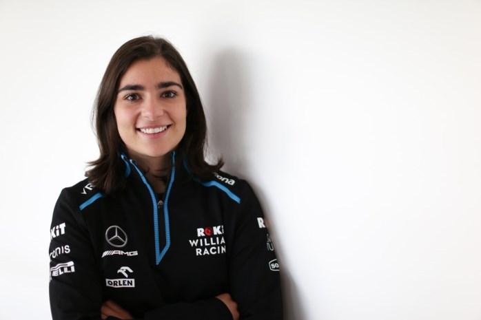 21 en een vrouw: de nieuwe ontwikkelingsrijdster bij het Williams F1 team
