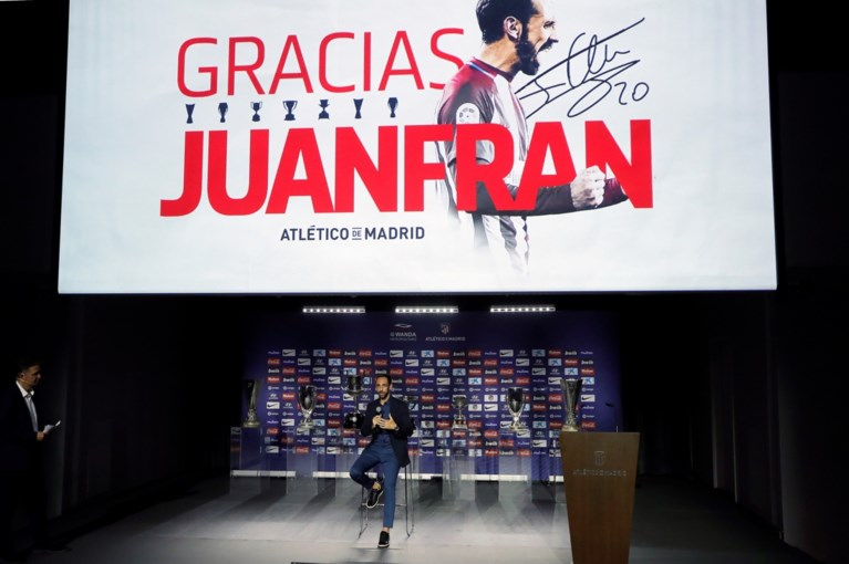 Geëmotioneerde Juanfran trekt deur bij Atlético Madrid achter zich dicht