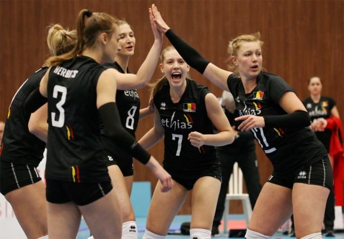Yellow Tigers pakken uit met stuntzege in Women's Nations League Volley en sluiten eerste week af in schoonheid