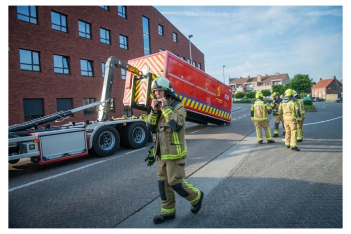 Brandweerkorpsen houden rampoefening met 'giftige dampen'