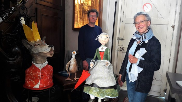 Frieda Heyman maakt volwassenen warm voor kunst met papier-maché