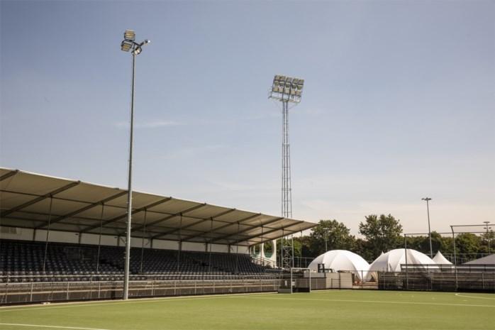 Nu 3.100, straks 7.500 hockeyfans in tijdelijk stadion op het Kiel