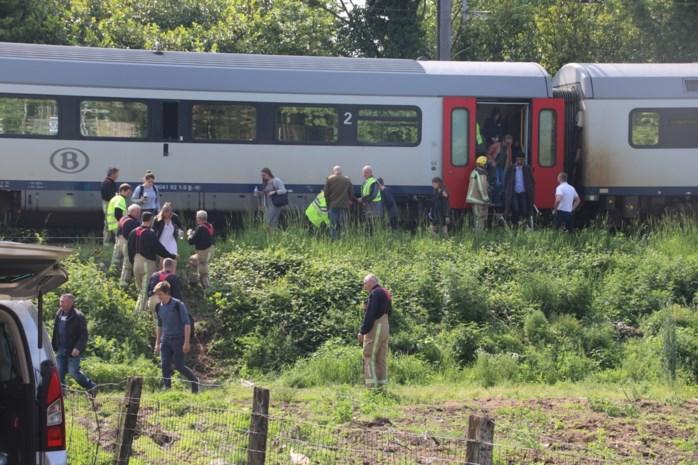 Voetgangster overleeft aanrijding met trein