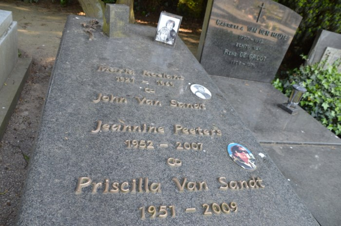 Zoektocht naar Priscilla Van Sandt eindigt op begraafplaats Mortsel-Dorp