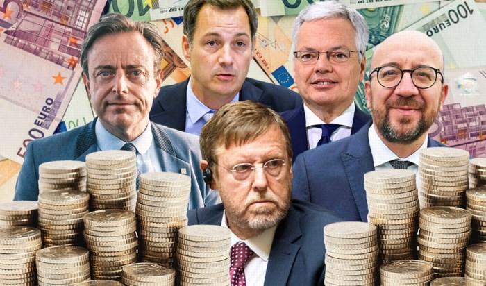Dit zijn de lonen van onze politici