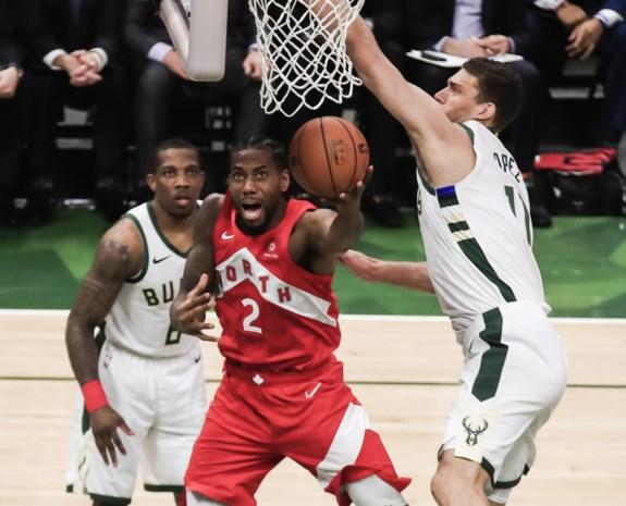 Toronto Raptors staan op een zucht van NBA-finale na derde opeenvolgende zege