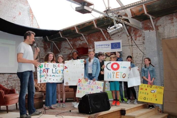 Scholen verbroederen over klimaat op L'Avenirsite