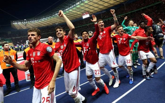 Bayern München rekent in finale makkelijk af met Leipzig en pakt dubbel