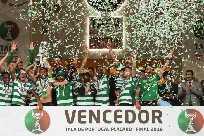 Sporting Lissabon wint Portugese beker na strafschopzege tegen Porto