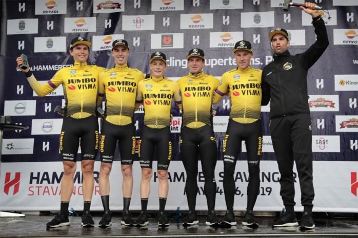 Hammer Series: Team Jumbo - Visma geeft eindwinst in Stavanger niet meer af