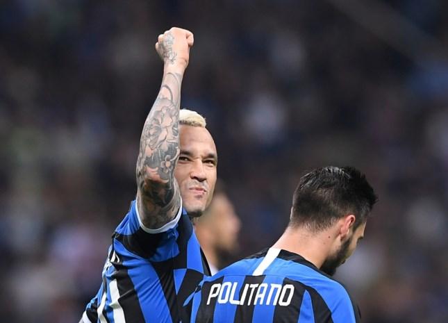 Slotspeeldag in Italië met sensationeel einde: Nainggolan trapt Inter naar Champions League, ook Castagne heeft ticket beet