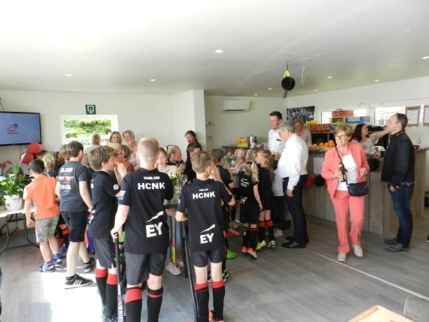 Hockeyclub Noorderkempen neemt clubhuis in gebruik
