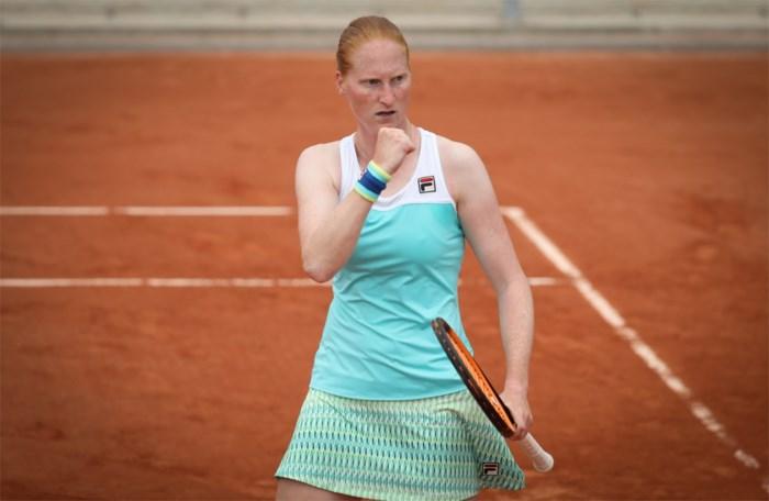 Alison Van Uytvanck overleeft eerste ronde Roland Garros niet, uitgeschakeld in drie sets