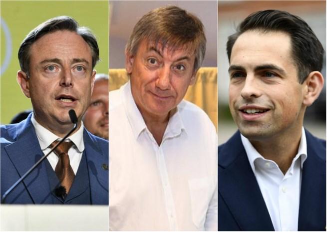 Voorkeurstemmen: meest aantal bolletjes voor De Wever, Jambon en Van Grieken in Antwerpen