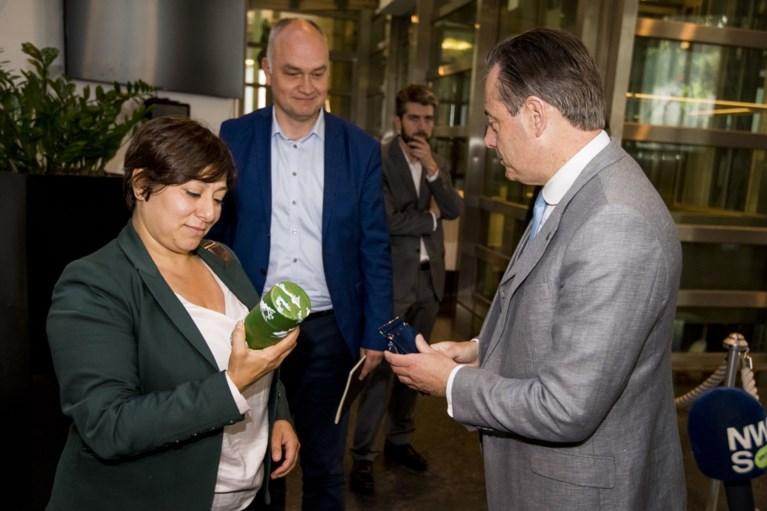 """Peter Mertens: """"Ik heb De Wever duidelijk gezegd dat we ons niet laten gijzelen"""""""