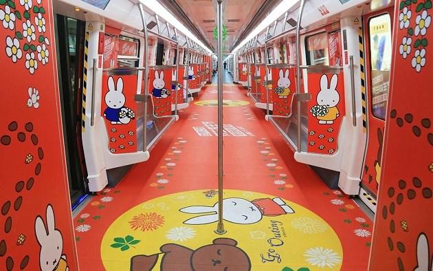 In China kun je meerijden met de Nijntje-metro