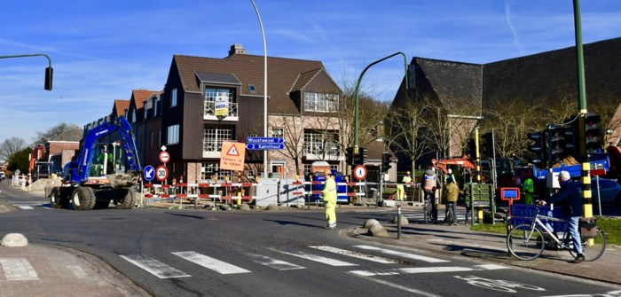 Werken kruispunt Achterbroek starten zaterdag met volgende fase