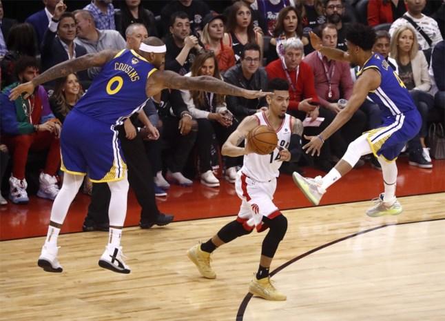 Toronto Raptors starten NBA-finale met zege tegen Golden State Warriors