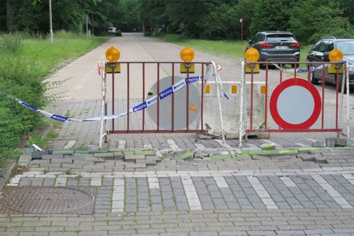 Hitte breekt verkeersdrempel af: Schijnparklaan dicht