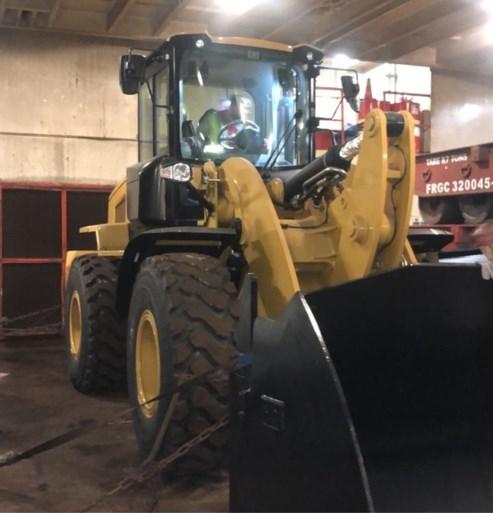 Lading cocaïne verborgen in tractor op schip naar Antwerpen