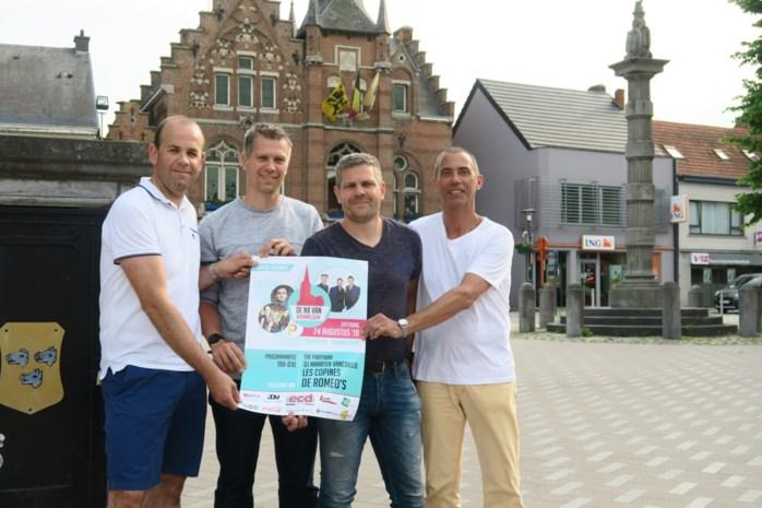 Nieuw festival N8 van Wommelgem zet De Romeo's en foute muziek op de affiche