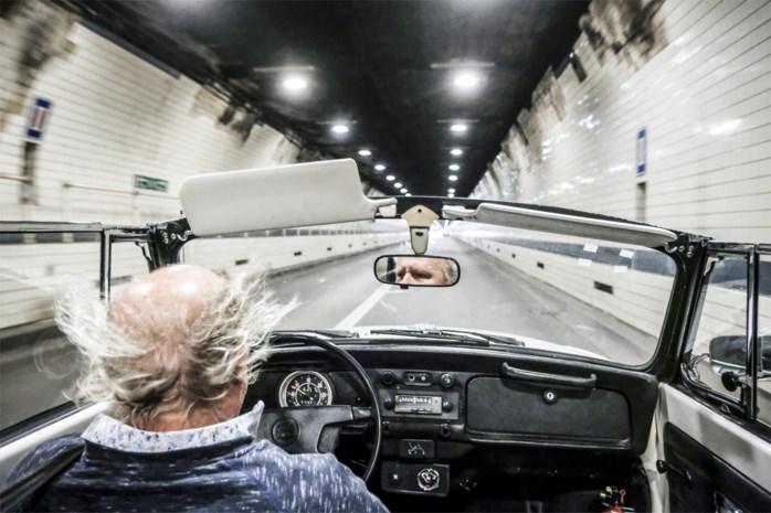 Terug naar 'de Vlaanders' met de Kever Cabrio over de 'oude baan'