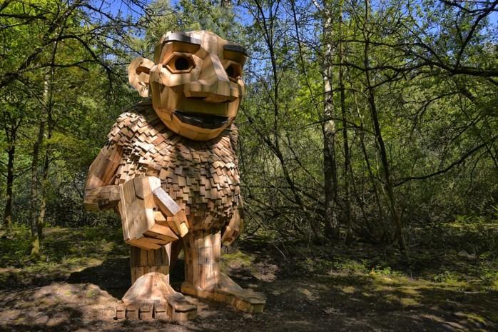 Nieuw in De Schorre: zeven gigantische trollen
