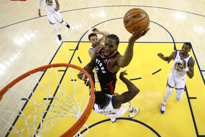 NBA. Toronto leidt opnieuw in finale na winst in Oakland tegen Golden State, ondanks 47 punten van Stephen Curry