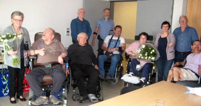 't Volderke wuift vrijwilligers Vriendenkring uit