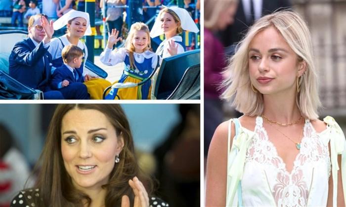 ROYALS. Let op Kate en Meghan, deze royal is het nieuwste stijlicoon. En schattige foto's uit Zweden