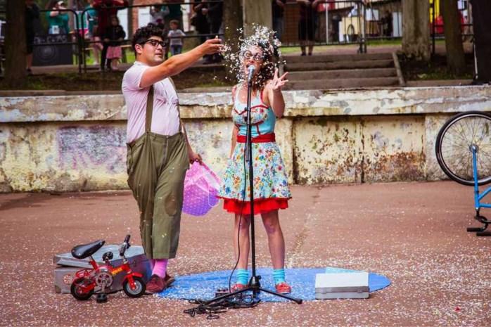 Sinjor Circo brengt straattheater naar de pleinen