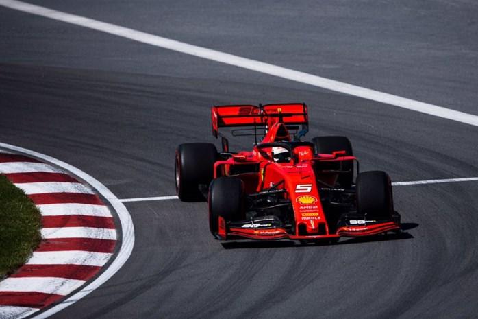 Ferrari bovenaan laatste oefensessie in Canada, Mercedes achtervolgt