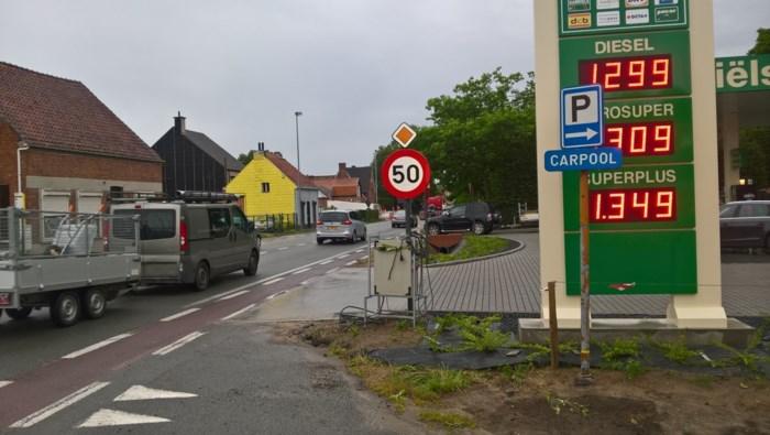 Buren vrezen onveilige situatie aan nieuw tankstation