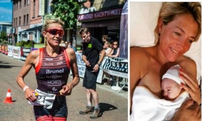 """Sofie Goos bevallen van dochter Babette: """"Zwaarder dan dertig triatlons"""""""