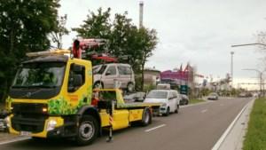 Verschillende wagens getakeld tijdens openingsweekend Sinksenfoor