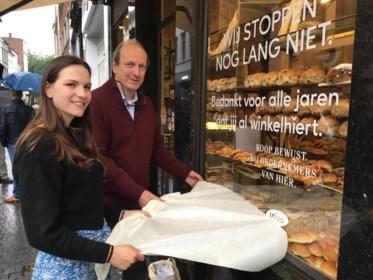 """Bekende bakkerij Goossens gaat niet écht dicht: """"Shockeffect om mensen aan het denken te zetten"""""""