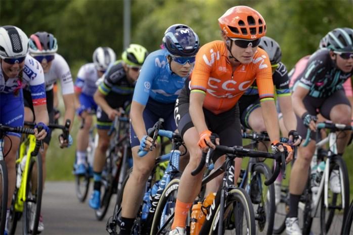 Marianne Vos naar ziekenhuis na val in Ronde van Groot-Brittannië