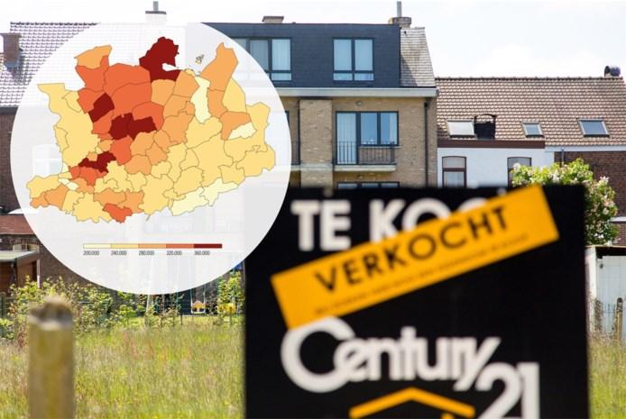Waarom in de Antwerpse rand alleen in Borsbeek de woningen goedkoper werden