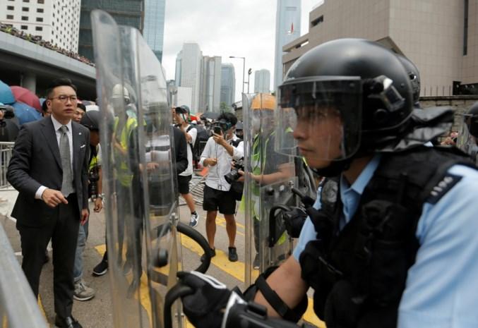 Protesten in Hongkong tegen omstreden wetsvoorstel houden aan