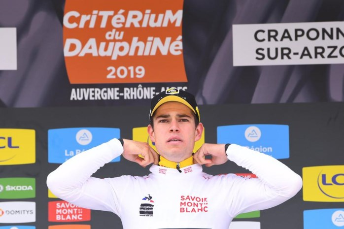 Beresterke Van Aert wint tijdrit, Teuns verliest geel